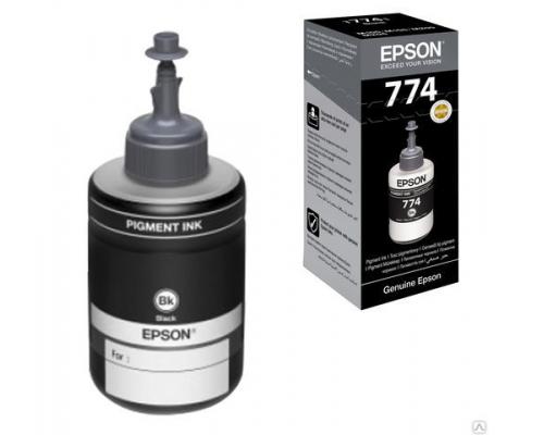 Чернила оригинальные Epson для струйных принтеров Epson M100/105/200/205, black (черные), 140 мл.