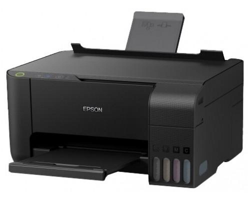 Струйное МФУ 3 в 1 (принтер, сканер, копир) Epson L3150 с оригинальной СНПЧ и чернилами ORIGINALAM.NET по 127мл