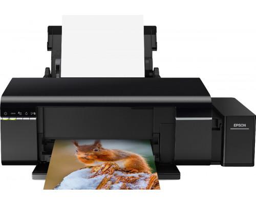 Струйный принтер Epson L805 с оригинальной (заводской) СНПЧ и комплектом высококачественных светостойких чернил INKSYSTEM