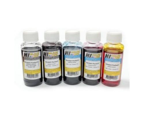 Комплект чернил для струйных принтеров и МФУ Hewlett-Packard OfficeJet Pro 6000/7000/8000, Пигментные, (Hi-Black), 4 штуки по 0,1 л.