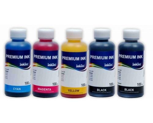 Комплект чернил InkTec C5025-C5026 для струйных принтеров и МФУ Canon PIXMA iP4820/MG5120 (PGI-225/425; CLI-226/426), 5 штук по 0,1 л.