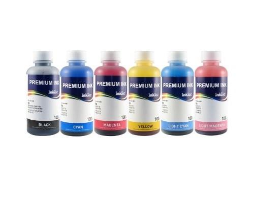 Комплект чернил InkTec H3070 для струйных принтеров и МФУ HP C8721/ C8719 (под картриджи № 02/363/177/801), 6 штук по 0,1 л.