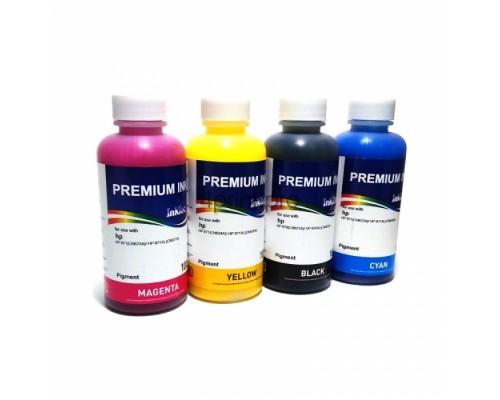 Комплект чернил InkTec H5851-H5852 для струйных принтеров и МФУ HP Deskjet GT 5810/ 5820 (с заводскими СНПЧ), 4 штуки по 0,1 л.