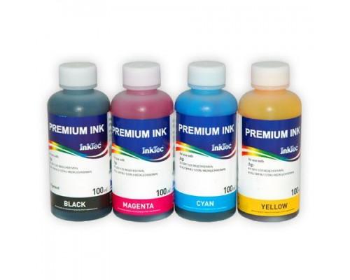Комплект чернил InkTec H6065-H6066 для струйных принтеров и МФУ HP DJ 6543/9860/ PSC 1610/2710; DJ 6843/ PCS 1613/2353 (C8765/C8767; C8766/C9363), 4 штуки по 0,1 л.