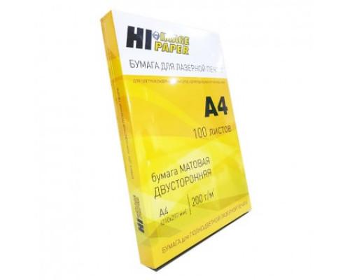 Бумага для лазерной печати (Hi-Image Paper) матовая двусторонняя, A4, 160 г/м2, 100 л.