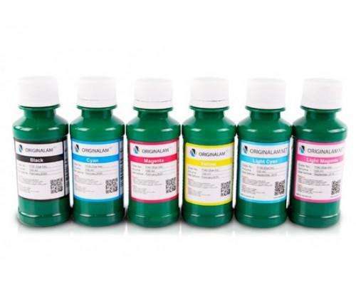 Комплект чернил для фотопечати ORIGINALAM.NET, Серия Е, к принтерам и МФУ Epson, 6 шт. по 100 мл. (Bk - черный, C - синий, M - красный, Y - желтый, CL - светло-синий, ML - светло-красный)
