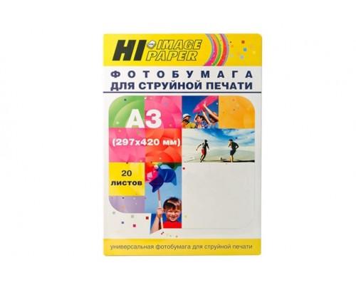 Фотобумага Hi-Image Paper глянцевая односторонняя, A3, 170 г/м2, 20 л.