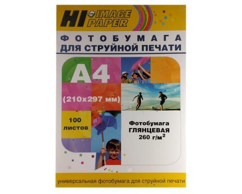 Фотобумага Hi-Image Paper глянцевая односторонняя, A4, 260 г/м2, 100 л.