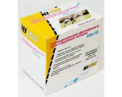 Фотобумага Hi-Image Paper глянцевая односторонняя, 10x15 см, 230 г/м2, 500 л.