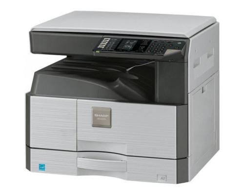 Лазерное МФУ формата А3 (принтер, копир, цветной сканер) Sharp NovaL AR6020D, ч/б, 20 стр/мин, дуплекс, 1x250 л.