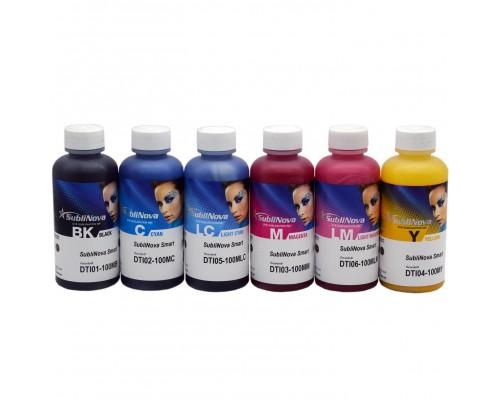 Комплект сублимационных чернил Inktec SubliNova Smart для принтеров Epson, 6 шт. по 100 мл.