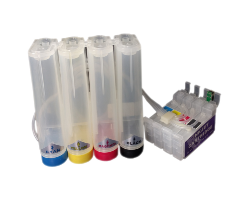 Система непрерывной подачи чернил (СНПЧ) для Epson Stylus C79 / TX300F / CX3900 / CX4900 / CX5900 / CX6900F / CX7300 / CX8300 / CX9300F (T0731-T0734) (без чернил)