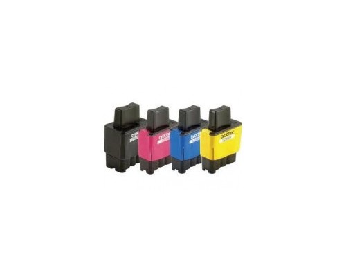 Комплект струйных картриджей для Brother DCP-115C / 120С / MFC-210С / 410CN (Hi-Black Ink), 4 штуки (Bk, C, M, Y)