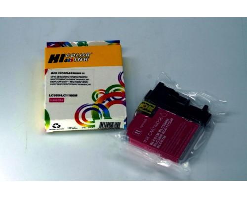 Комплект струйных картриджей для Brother DCP-145C, Brother DCP-165C, Brother DCP-195C, Brother MFC-250C (Hi-Black Ink), 4 штуки (Bk, C, M, Y)