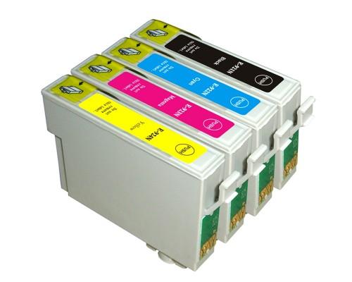 Комплект струйных картриджей T0921-T0924 для Epson Stylus C91 / CX4300 / T26 / TX106 / 109 (Hi-Black Ink), 4 штуки