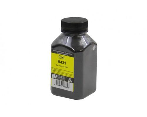Тонер для Oki B411 / B431 / MB461 / MB471 / MB491, Bk (черный), Hi-Black Toner, банка 110 гр.
